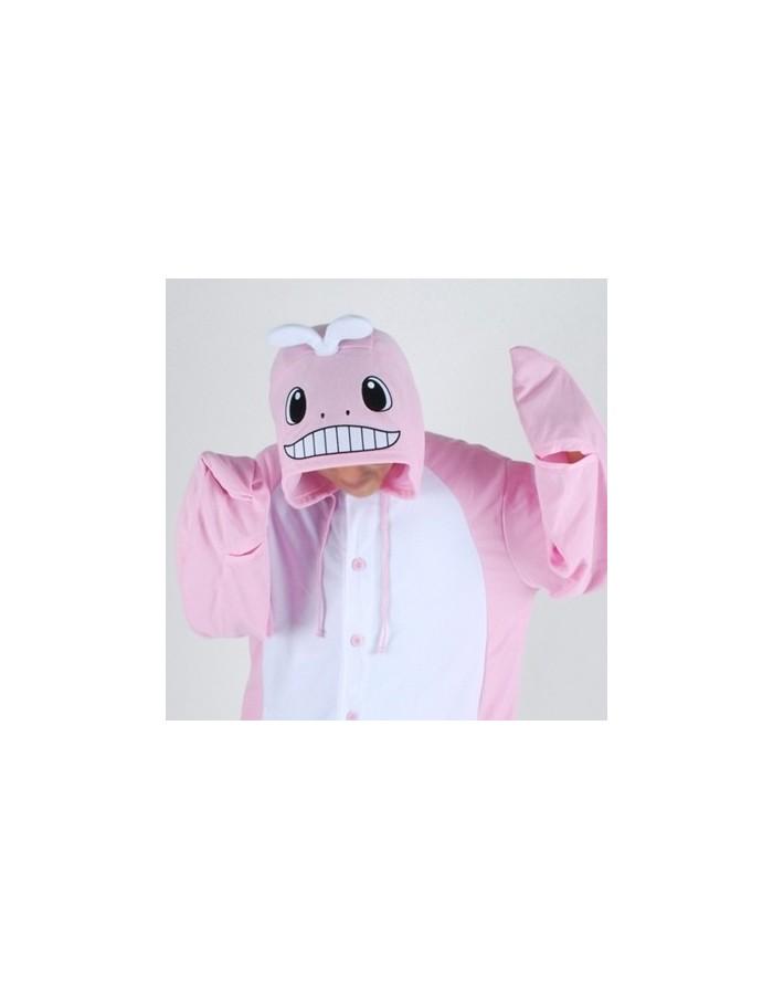 [PJB222] Animal Pajamas - Pink Whale