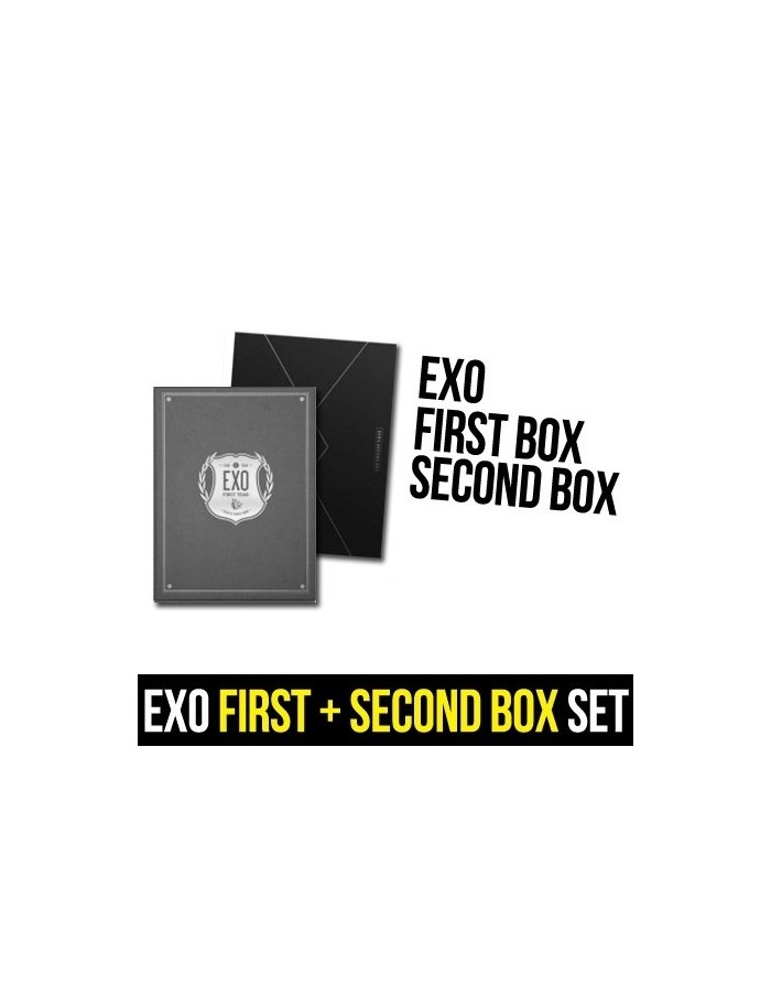 EXO - EXO's FIRST BOX + Second Box SET (Special Gift)