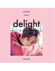 SHIN HYE SUNG - SPECIAL ALBUM DELIGHT ( CD + 64p Booklet )