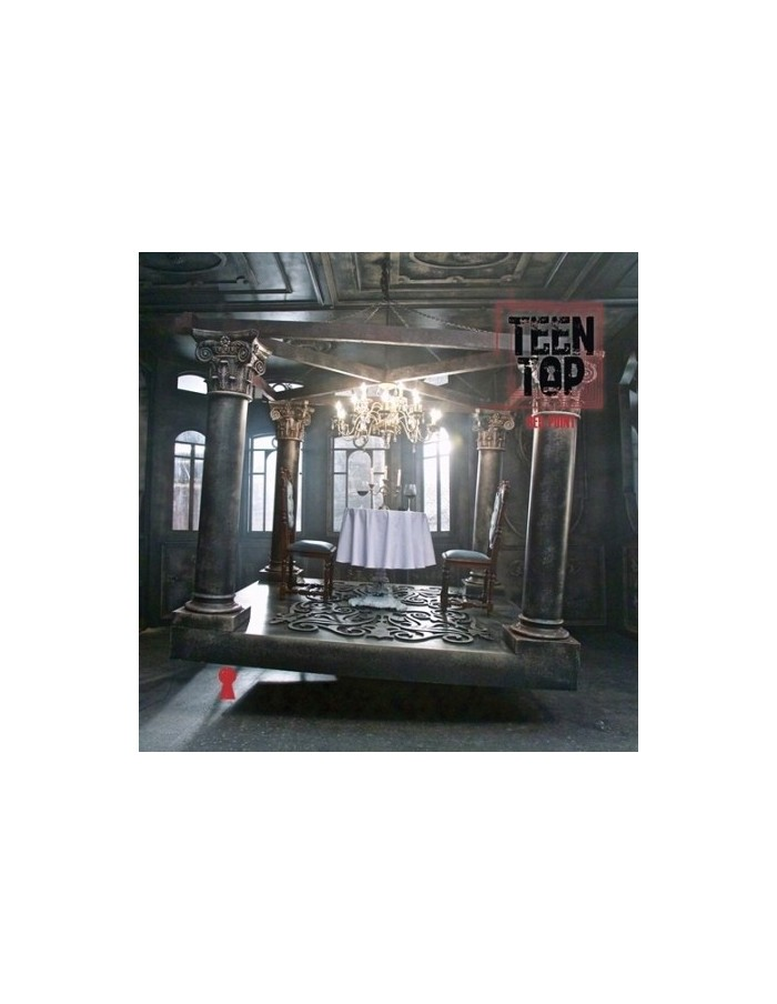 TEEN TOP 7th Mini Album - RED POINT URBAN Version CD + Photobook + Photocard + Poster