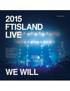 FTISLAND - 2015 FTISLAND LIVE [WE WILL] (2 DISC + Photobook 44p)