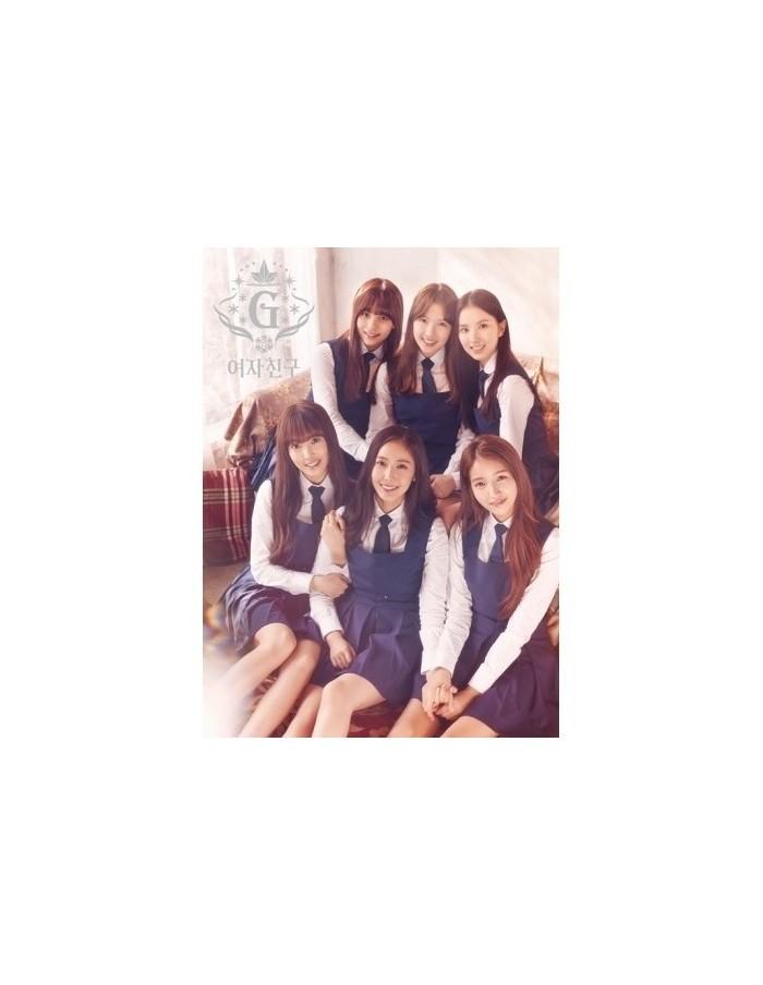 여자친구 (Girl Friend) 3rd Mini Album - SNOWFLAKE CD + Poster
