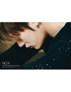 JYJ Kim Jae Joong 2nd Album - NO.X CD + Poster