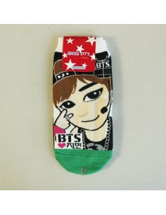 1 Pair of Character Socks - BTS Jimin Ver 2