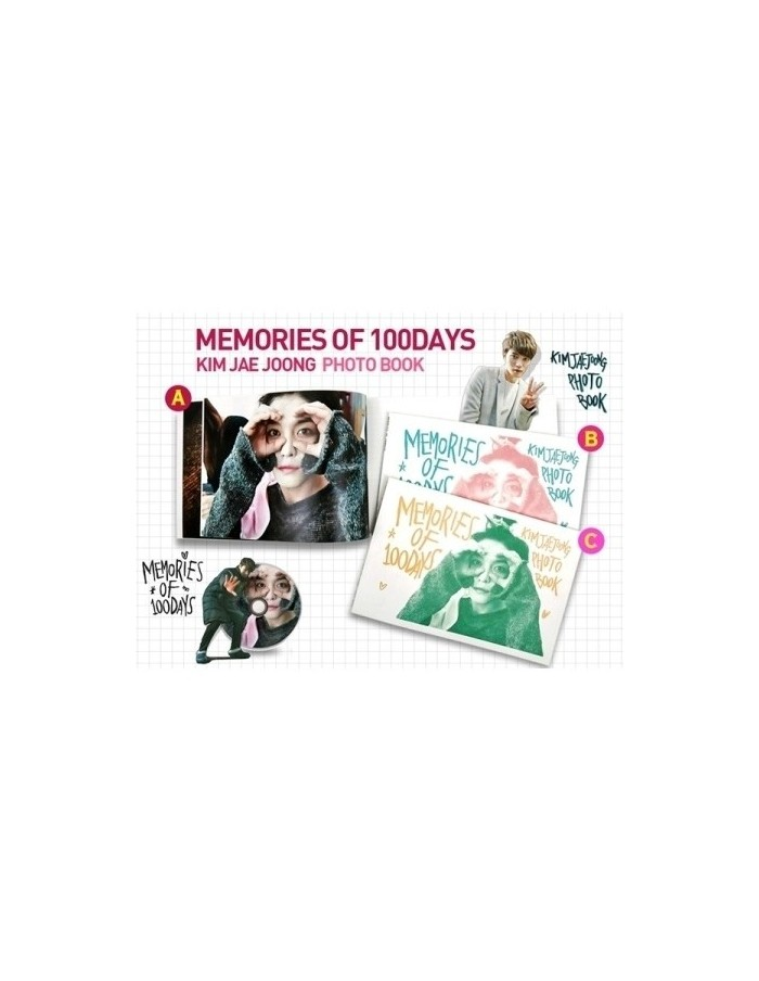 [Limited] JYJ Kim Jae Joong MEMORIES OF 100 DAYS (1Disc + 3 Photobook + 2 Poster + 10 Photocard + 1 Bookmark)