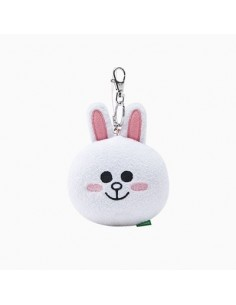 [LINE FRIENDS Goods] Cony Face Key Ring (10cm)