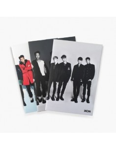 iKON 2016 SHOWTIME TOUR IN SEOUL - POCKET NOTE SET