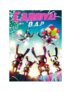 [Special Version] B.A.P 5th Mini Album - CARNIVAL CD + Poster