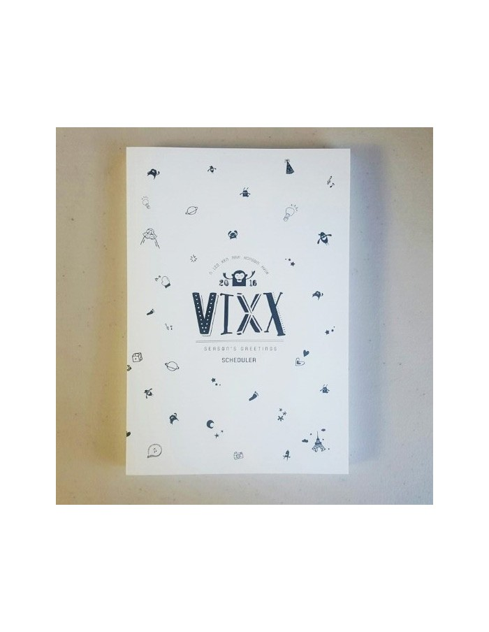 VIXX Scheduler in 2016 SEASON'S Greeting