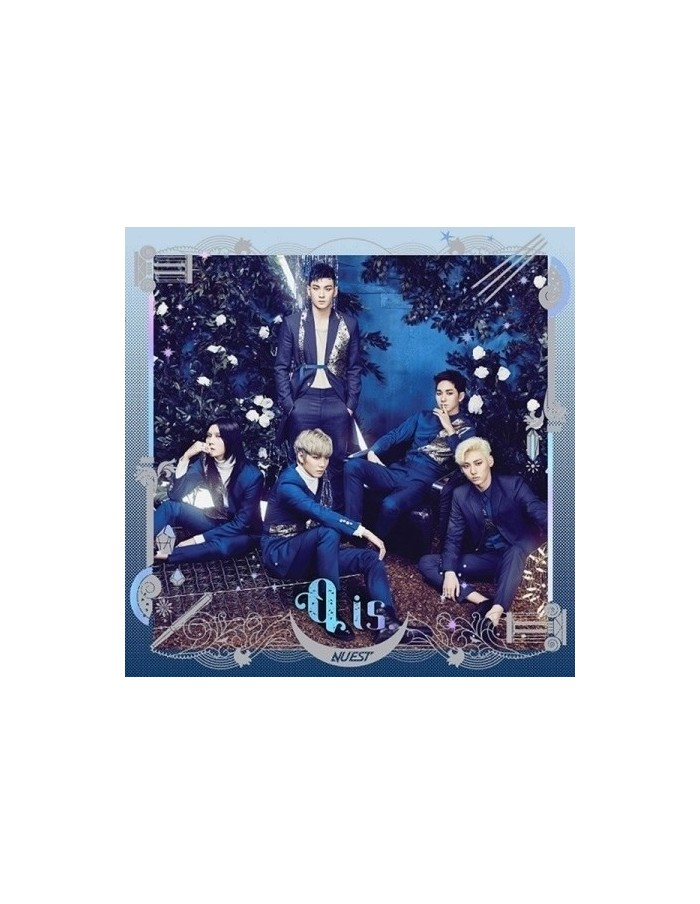 NU'EST 4th Mini Album - Q IS CD  + Poster