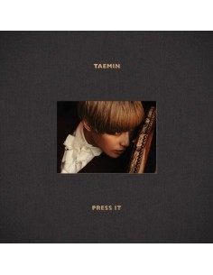 SHINEE TAEMIN 1st Album - Press it CD + Poster