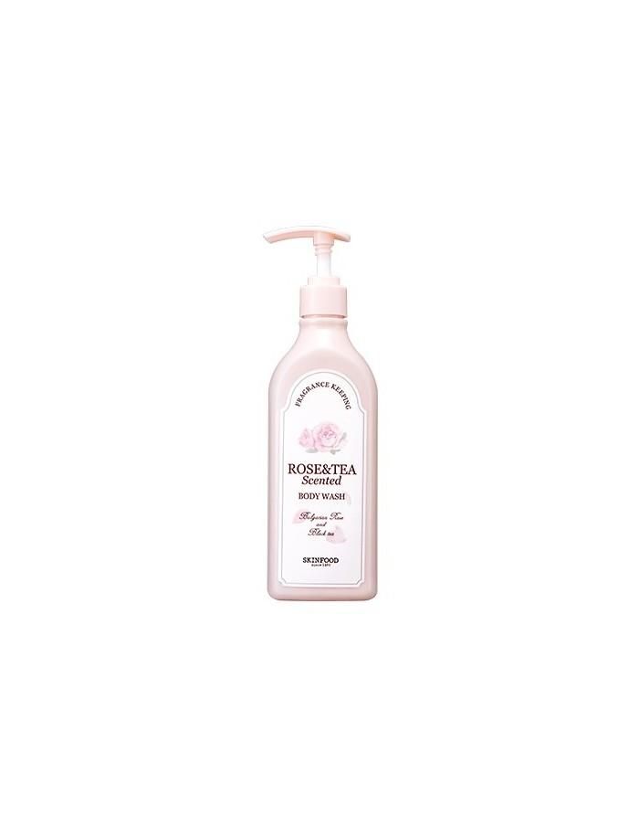 [Skin Food] Rose & Tea Scented Body Wash 335ml