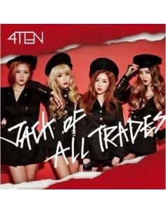 4TEN 1st Mini Album - JACK OF ALL TRADES CD