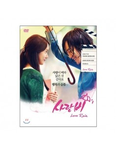 DRAMA LOVE RAIN DVD SET - 9DISCs + Photobook + Script (Episode.1)