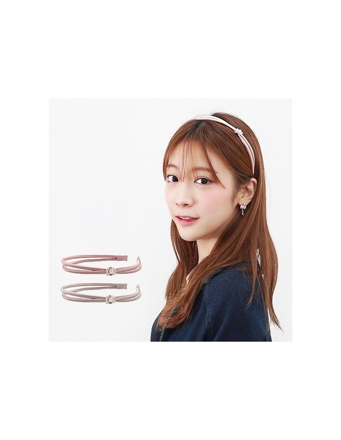 [AS149] Pompom Hair Band