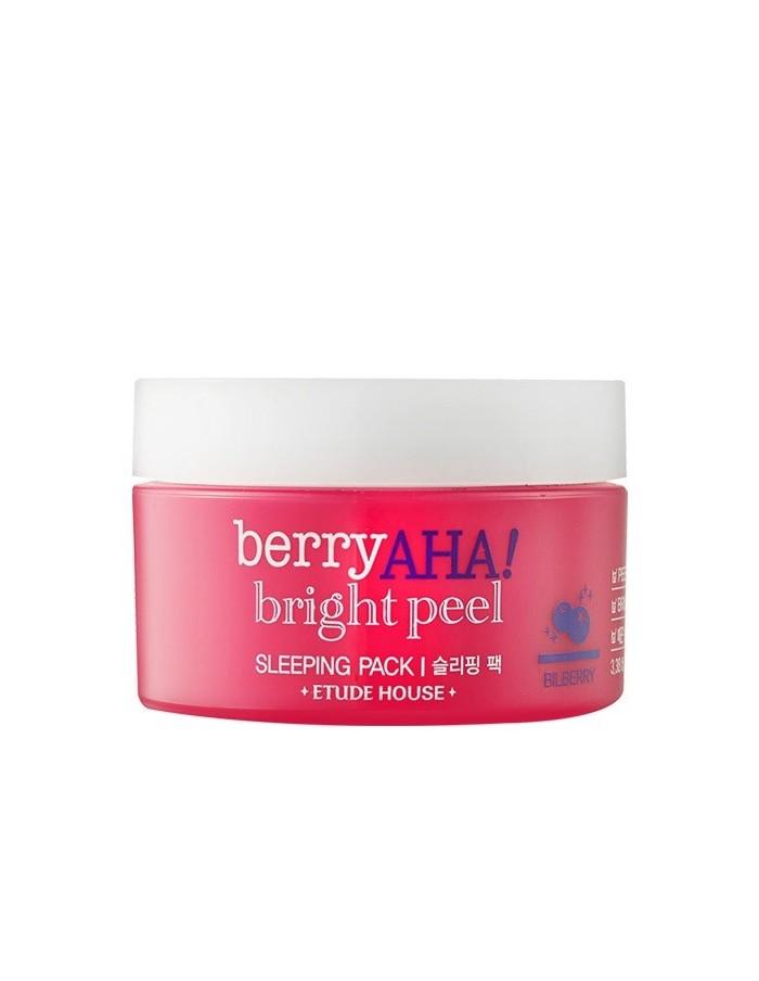 [ETUDE HOUSE] Berry AHA Bright Peel Sleeping Pack 100ml