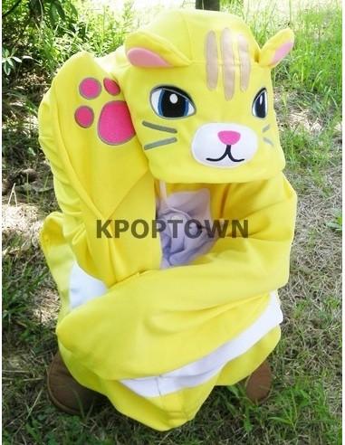 SHINEE Animal Pajamas - yellowcat