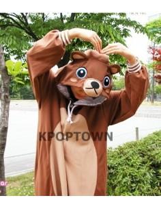 SHINEE Animal Pajamas - brownbear