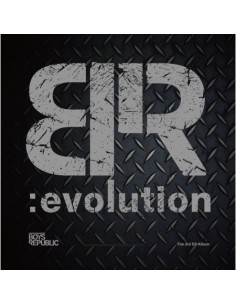 BOYS REPUBLIC 3rd EP - BR:EVOLUTION CD + Poster