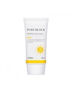 [A'PIEU] Pure Block Mild Plus Sun Cream SPF32/PA++ 50ml