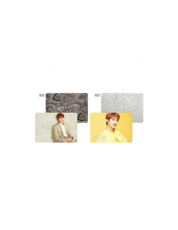 2016 XIA The Best Ballad Spring Tour Concert - Table Mat