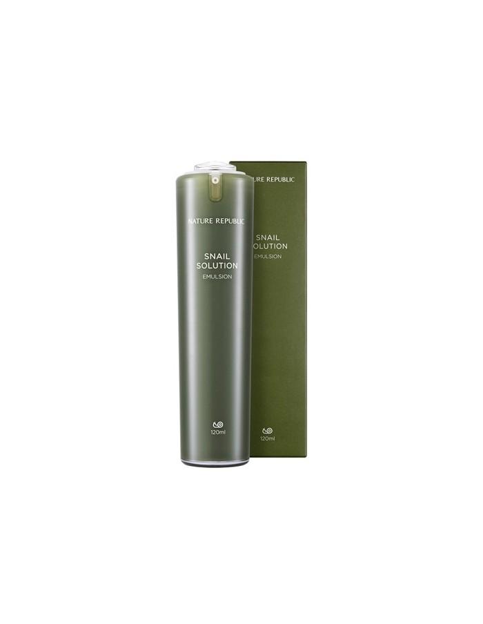 [ Natrure Republic ] Snail Solution Emulsion 120ml