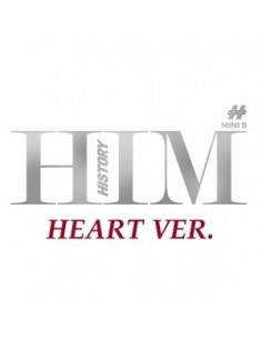 History 5th Mini Album - HIM CD + Poster (HEART Ver.)