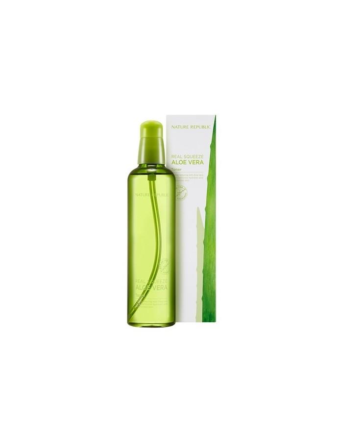 [ Nature Republic ] Real Squeeze Aloe Vera Toner 150ml