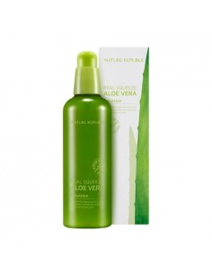 [ Nature Republic ] Real Squeeze Aloe Vera Emulsion 125ml