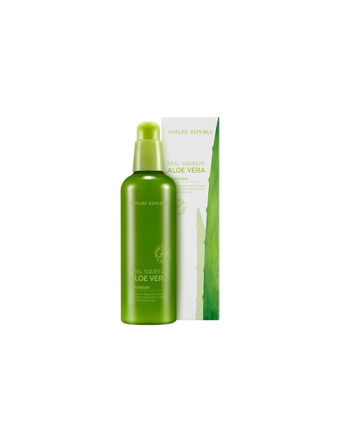 [ Nature Republic ] Real Squeeze Aloe Vera Emulsion 125ml