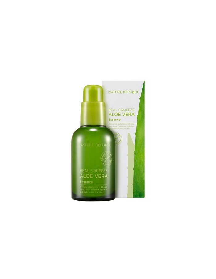 [ Nature Republic ] Real Squeeze Aloe Vera Essence 50ml