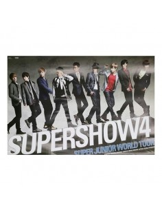 [Poster] Super Junior - Super Show 4 DVD Poster