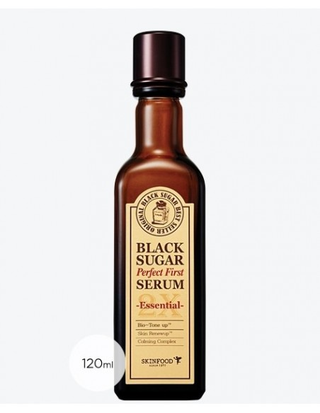 [Skin Food] Black Sugar Perfect First Serum 2X 120ml ( 2Kinds )