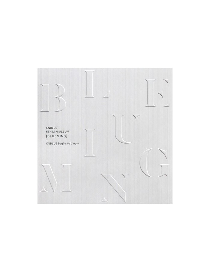 [B Version] CNBLUE 6th Mini Album - BLUEMING CD + Poster
