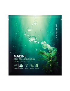 [ Nature Republic ] Aqua Collagen Solution Hydrogel Mask Sheet 25g