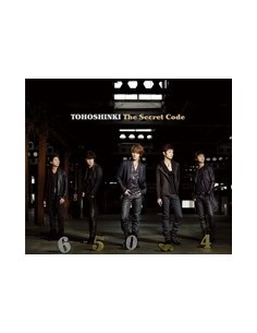 TVXQ  THE SECRET CODE 2CD + DVD VER.
