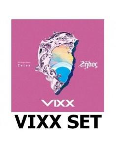 [SET] VIXX 5th Single Album - ZELOS 2 CDs + 2 Posters