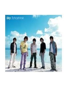 TVXQ SKY SINGLE CD + DVD POST CARD