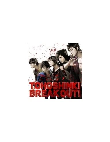 TVXQ BREAK OUT! SINGLE CD + DVD
