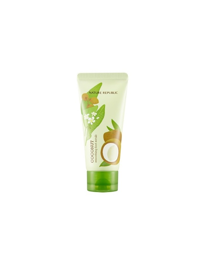 [ Nature Republic ] Foot & Nature Coconut Smoothing Foot Scrub 80ml