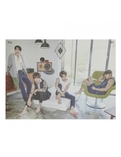 [Poster] CN BLUE 2dn Album 2gether Poster A Version