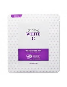 [ETUDE HOUSE] Toning White C Ampoule Hydrogel Mask 25g