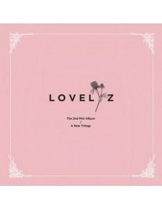 LOVELYZ 2nd Mini Album - A NEW TRILOGY + Poster