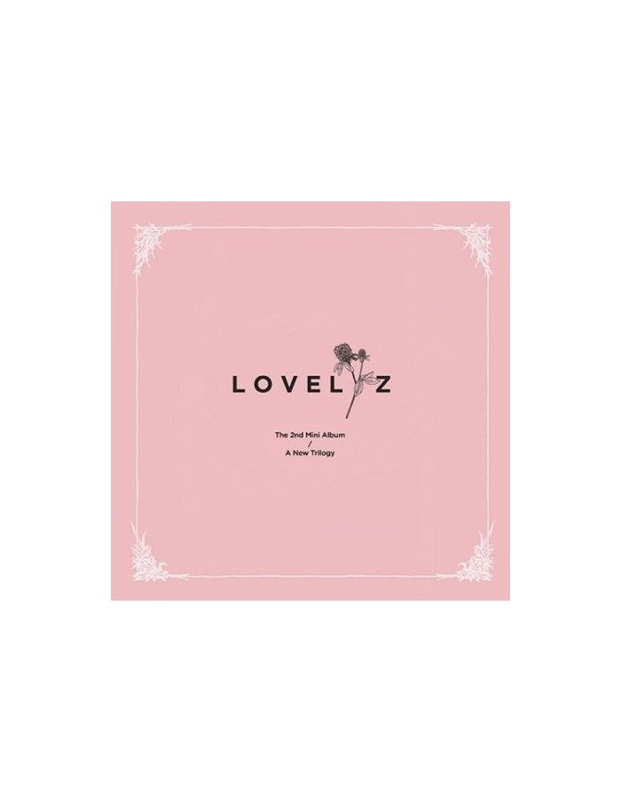 LOVELYZ 2nd Mini Album - A NEW TRILOGY + Poster