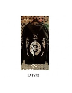 [H16] Chorme hatz Style  Hoodie Zip-up Hood T-shirts -D Type
