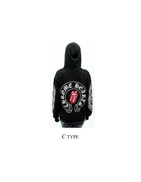 [H16] Chorme hatz Style  Hoodie Zip-up Hood T-shirts -C Type