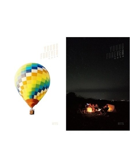 [DAY+NIGHT SET] BTS 화양연화 YOUNG FOREVER 2CDS + 2POSTERS