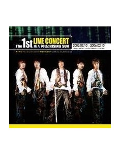 TVXQ 1ST LIVE CONCERT ALBUM RISING SUN - 2 CD