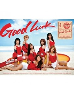 [A Version-Week] AOA 4th Mini Album - GOOD LUCK CD + Poster
