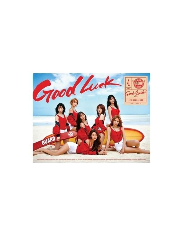 [A Version-Week] AOA 4th Mini Album - GOOD LUCK CD + Poster